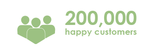 200,000 Happy Customers